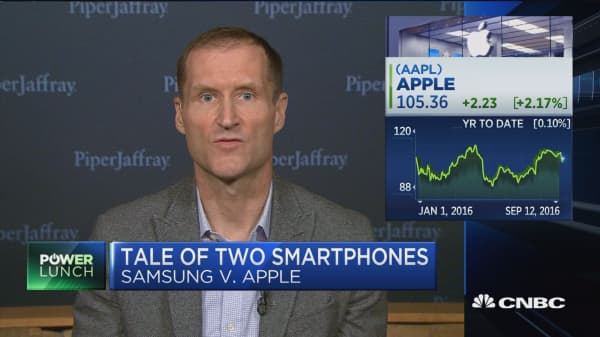 Tale of two smartphones