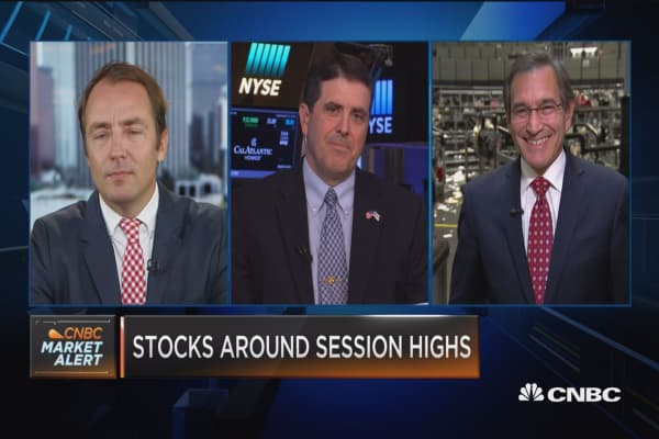 Closing Bell Exchange: Rate talk drives stocks higher
