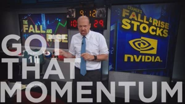 Cramer Remix: Here's the stock with the most momentum in the S&P or NASDAQ