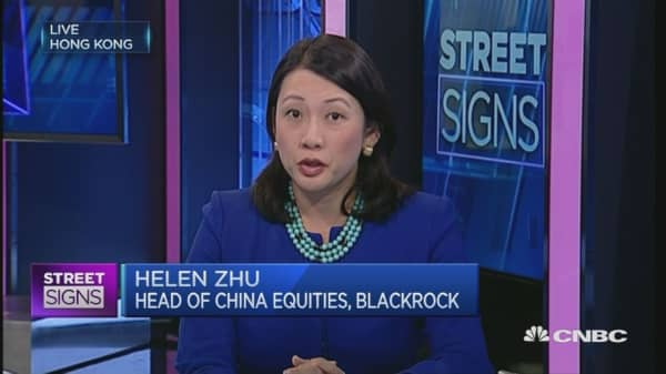 Chinese economy is stable: Blackrock