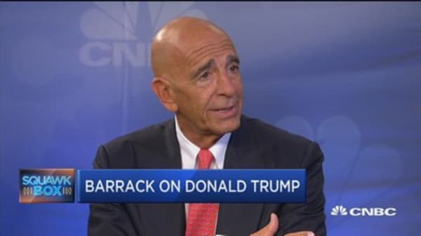 Trump much better than his billing: Tom Barrack