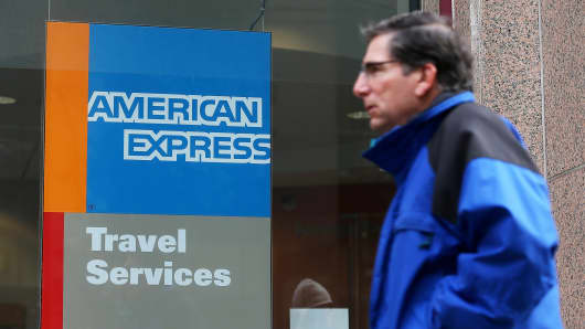 American Express earnings: $1.50 per share vs $1.48 EPS expected""