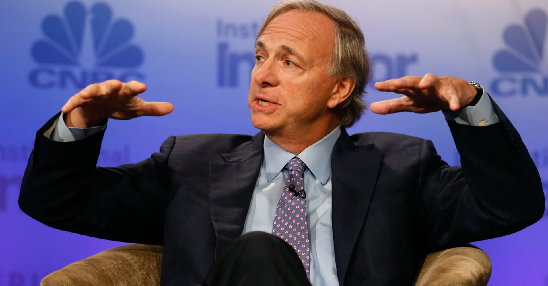 Hedge fund titan Ray Dalio says the world is counting on stocks going up and that will mean trouble in a bear market