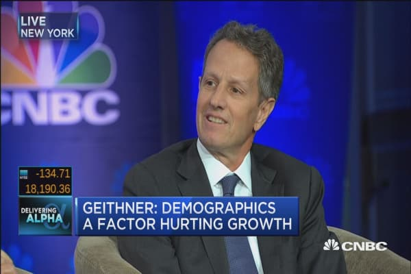 Geithner: There's been a 'scary erosion of the pragmatic center'