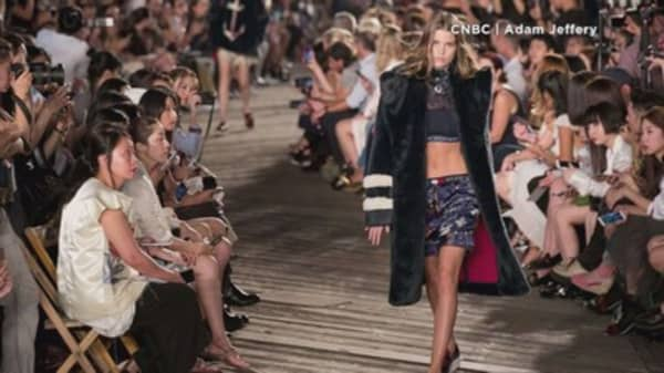 Crop tops take over New York Fashion Week