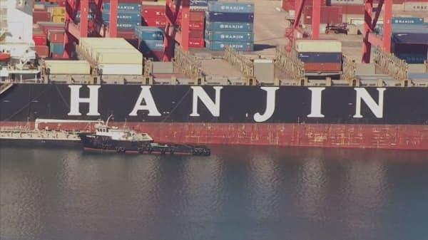 Hanjin secures $45M
