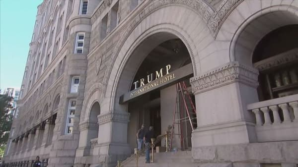 Trump International Hotel welcomes its first guests
