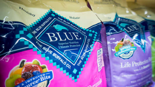 General Mills buys high-end pet food company Blue Buffalo for $8B