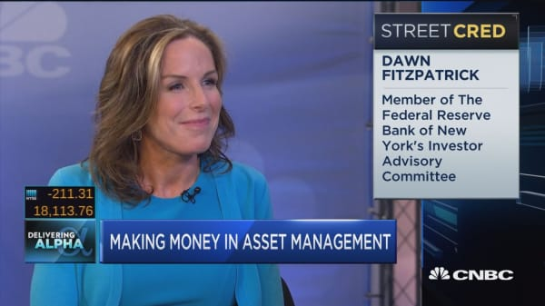 Making money in asset management,