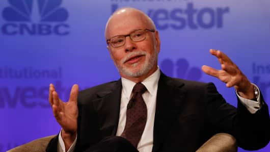 Paul Singer speaking at the Delivering Alpha conference in New York on Sept. 13, 2016.