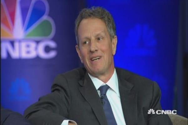 Geithner on whether DC politics have gotten better