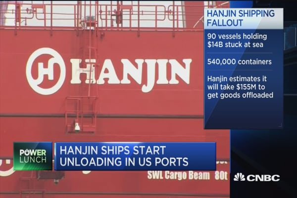 Hanjin shipping fallout