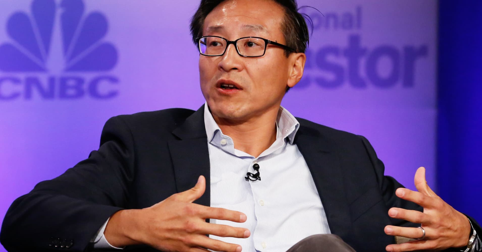The US trade deficit with China 'will reverse' in the long term, Alibaba co-founder says