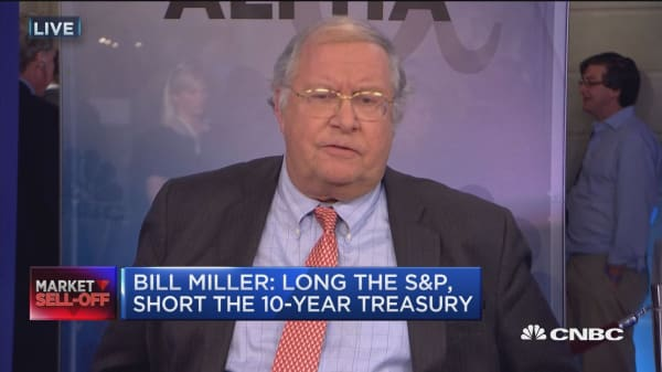 Bill Miller: Long the S&P, short the 10-year Treasury