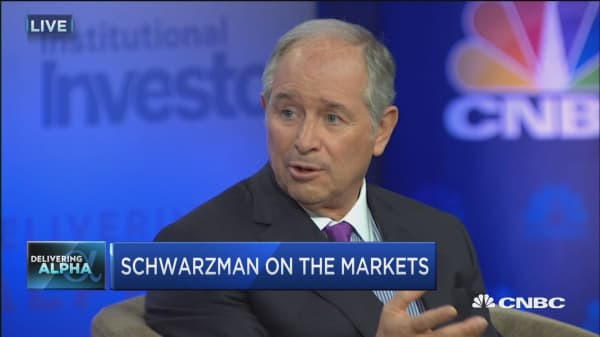 Schwarzman: Presidential election turned into a 'food fight'