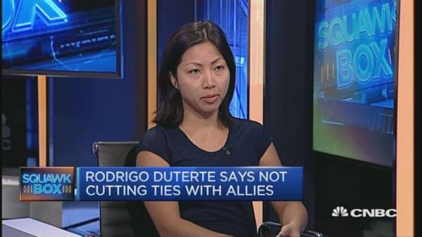 Duterte FDI