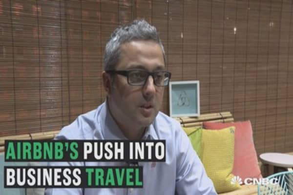 Airbnb wants in on corporate travel