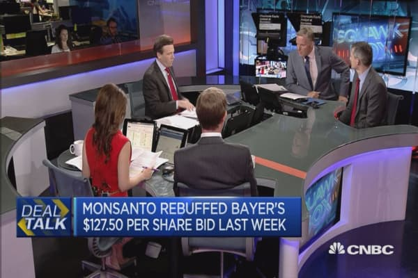 Will Bayer close a deal with Monsanto?