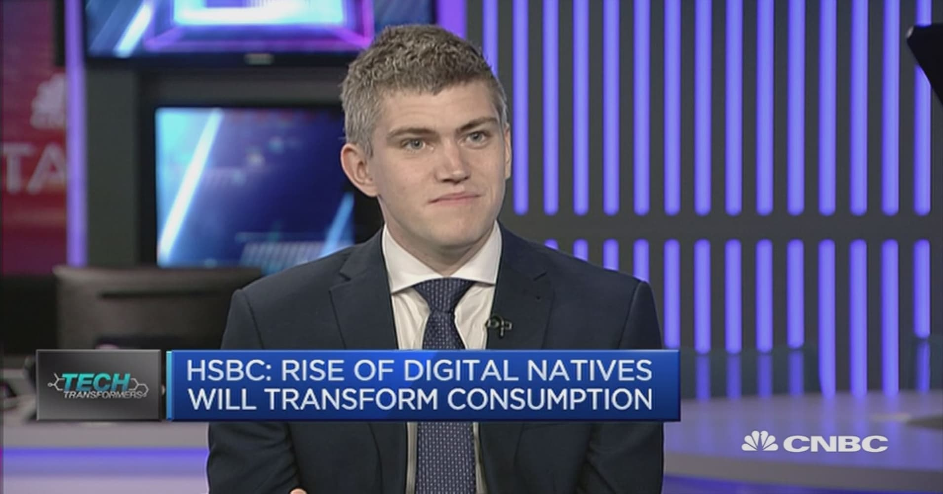 Digital natives will transform consumption: HSBC