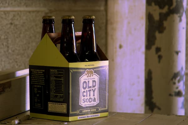 Old City Soda makes hand-crafted, preservative-free sodas in Cleveland.