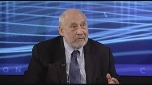 Italy and Greece are the biggest risks to Europe: Joseph Stiglitz