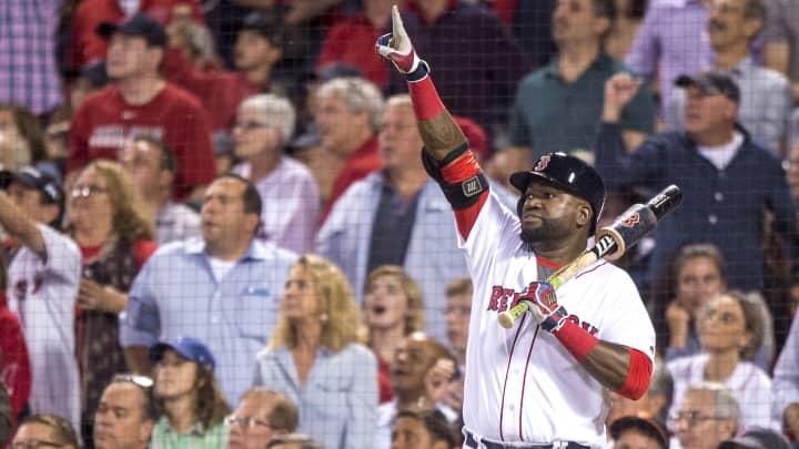 David Ortiz of the Boston Red Sox