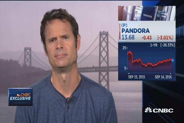 Pandora CEO on music deals