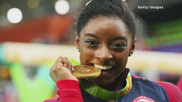 Russian hackers leak Simone Biles medical data