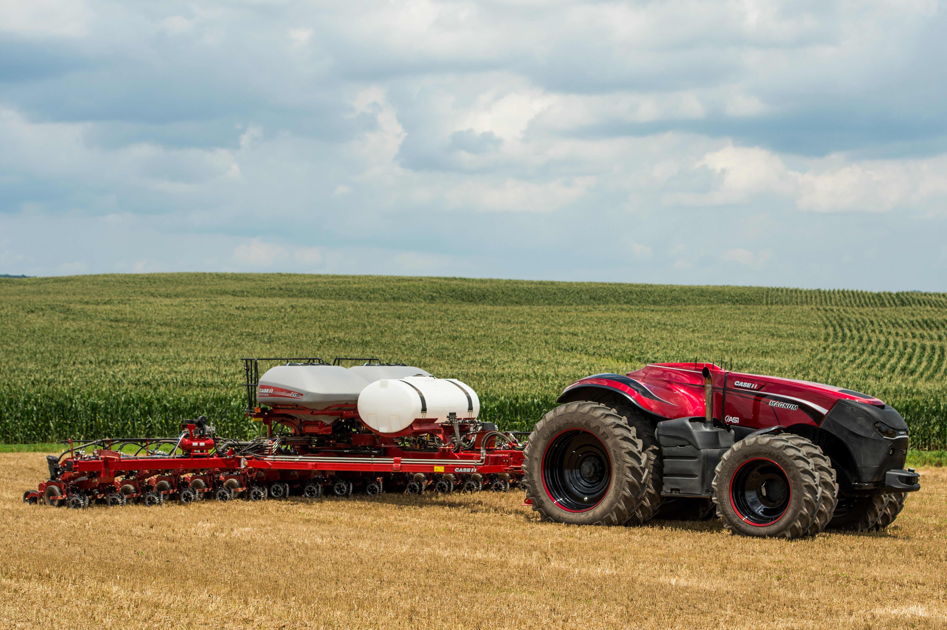 Future of farming driverless tractors ag robots buycottarizona