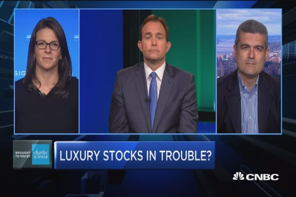 Trading Nation: Luxury stocks in trouble?