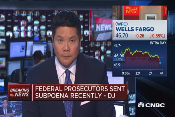 Federal prosecutors probe Wells Fargo -DJ