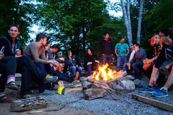 FreshBooks' PORCHFEST cottage retreat this summer.