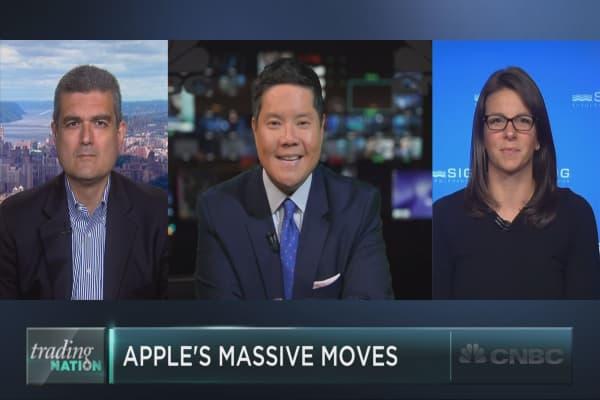 Apple's massive moves continue