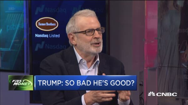 Trump: So bad he's good?