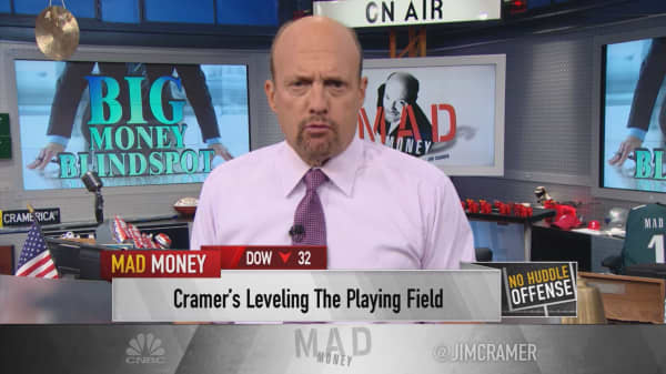 Cramer: A dangerous market for hedge funds is an innovative one for you
