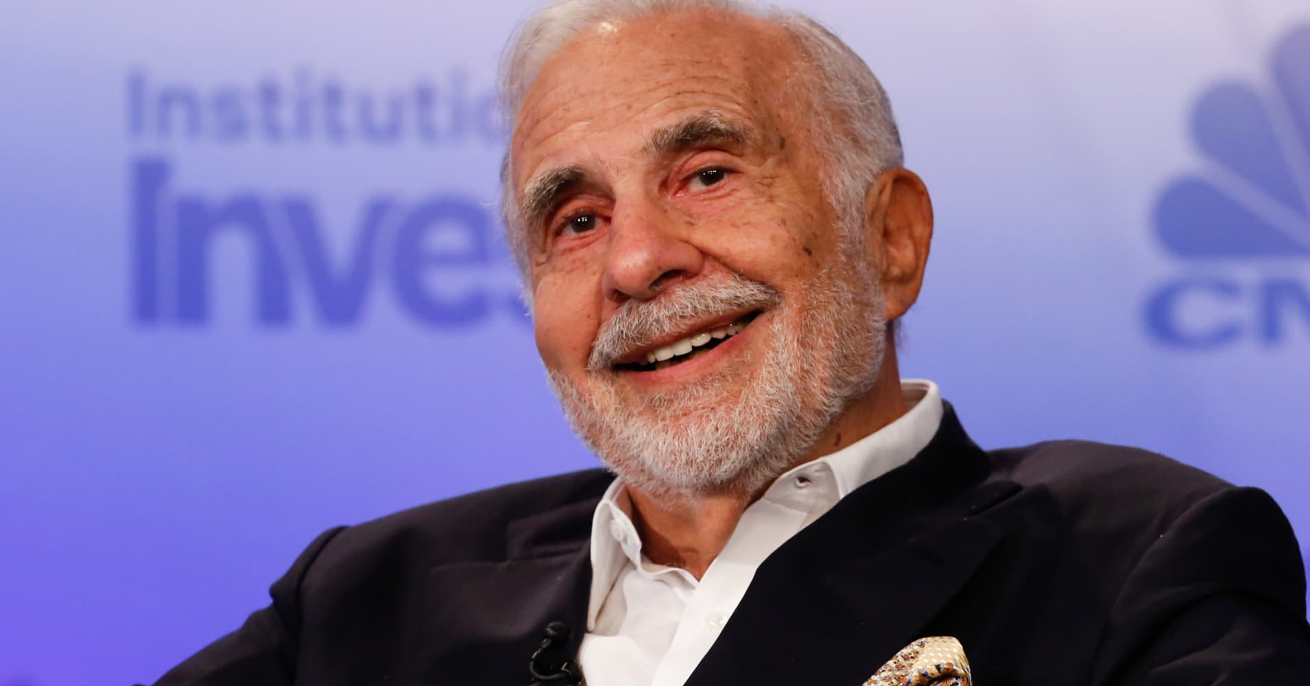 Icahn, with 6 % of Newell Manufacturers shares, hasn't determined which aspect he is on