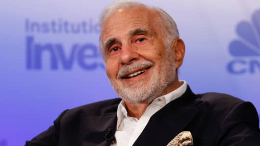 Icahn in activist move takes 13% stake in SandRidge Energy, DJ reports
