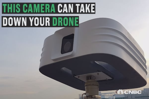 This camera wants to take down your drone