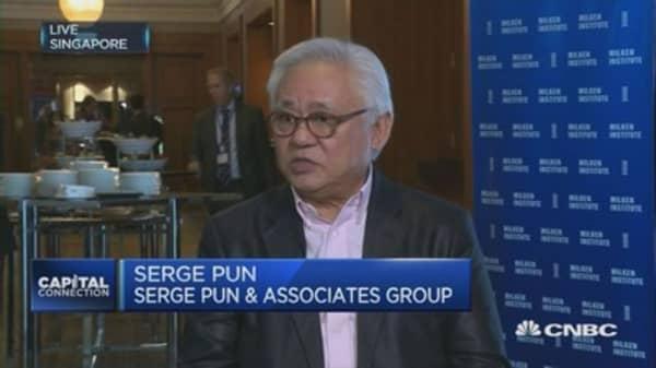 No rational to keep US sanctions on Myanmar: Serge Pun