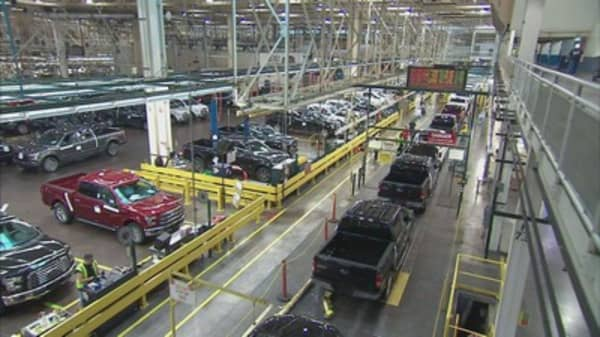 Ford moving all small-car production to Mexico