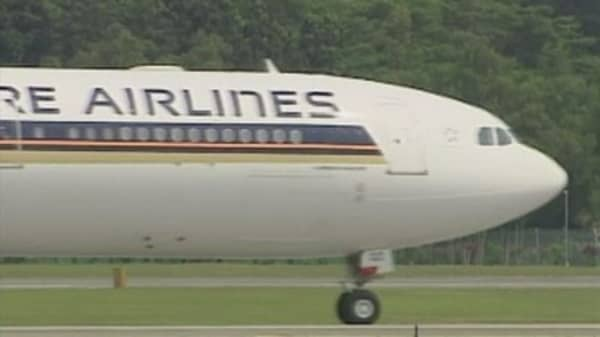Singapore Airlines not renewing lease on its first A380