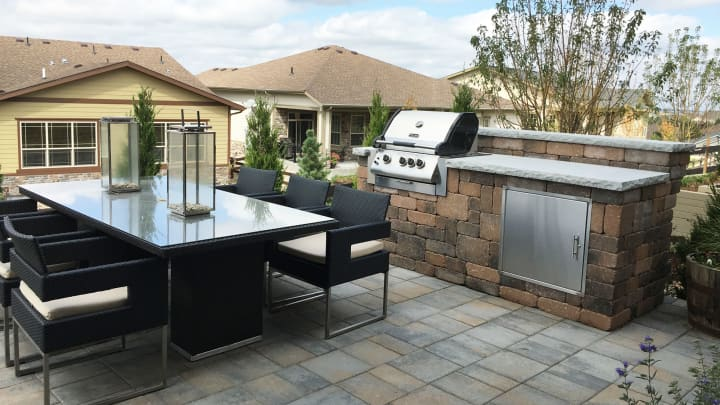 "Outdoor living part of the luxury at Toll's new ""Inspiration"" 55-plus community in Aurora, CO."