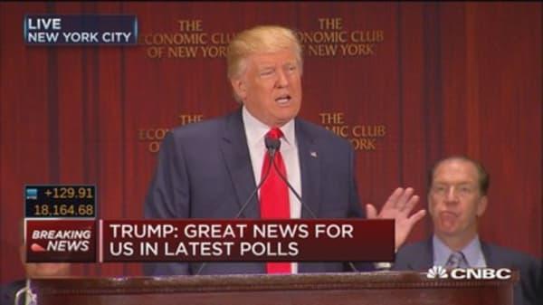 Trump: Plan will create 25M new jobs in 10 years