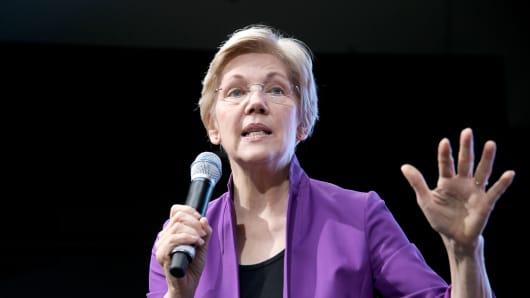 Senior United States Senator from Massachusetts, Elizabeth Warren