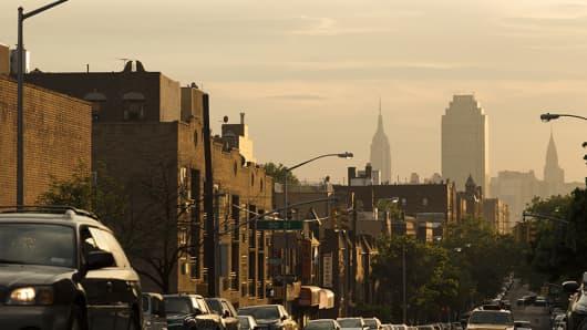 New York City Queens view