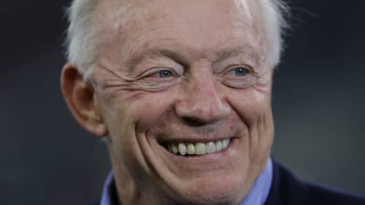 Owner, Jerry Jones of the Dallas Cowboys