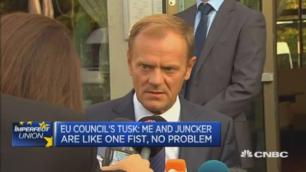 What we need in Europe is good co-operation: Donald Tusk