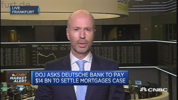 Deutsche Bank: We are trying to bring number down
