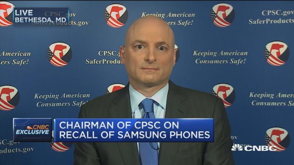 CPSC Chair: We'll see more battery recalls like Samsung