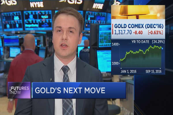 Brace for more profit-taking in gold: RBC